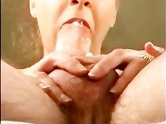 close up pov oral-job milf cim facial bukkake