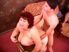 aged chubby housewife fucking with youthful thief
