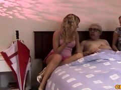 cfnm femdom blondes fuck and queen dude