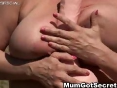 horny mother i receives her hairy muf fucked part1