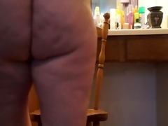 horny wife riding bbc toy