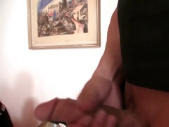 lewd mother-in-law takes his cock