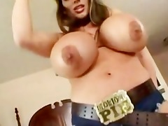 lisa lipps - biggest cowboy tits