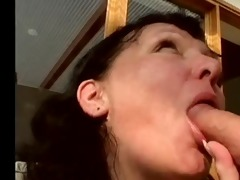 corpulent older pumped in her hairy cum-hole by