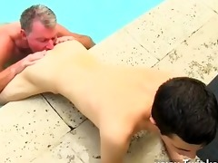 sexy homosexual sex daddy brett obliges of