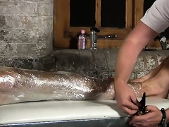 corporalist sebastian milks a hot load of cum to