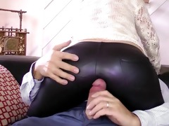 young babe sucking old mans wang