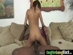 watching my young hot daughter banged by darksome