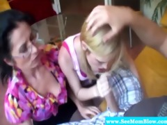 spex mommy and legal age teenager sharing hard
