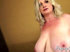 plump large tit grandma