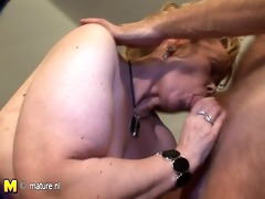 real amateur mother moans and comes like wild