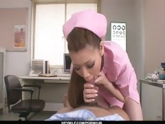 on her knees, ayumi kobayashi gives a pov