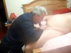 chubby dad bears sucking