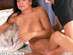 horny dark brown mom teri weigal has her juicy