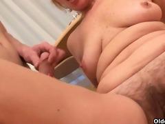 grandma desires cock and cum