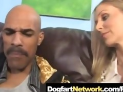 hot cougar julia ann fucks a huge dark pounder