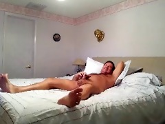 hot dad jerking and cuming