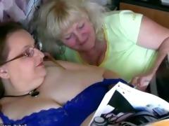 plump granny and old granny masturbating