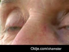 pervert oldman bangs shy slutty golden-haired