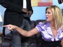 aged mom fucked by blacks cause son owes em money