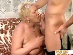 granny bonks a younger man