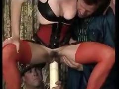 huge candel insertion