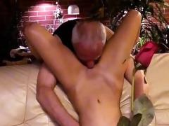 granddad with a slut