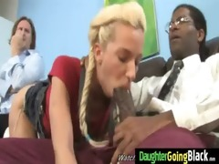 juvenile daughter with admirable ass fucked by a