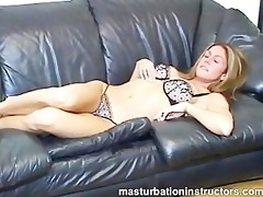 jerk off teacher exposes her nice scoops to tease