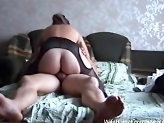 fucking the wife on the ottoman