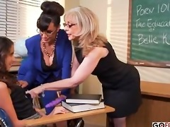 nina hartley and lisa ann train belle knox how to