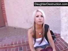 youthful daughter screwed hard