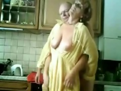 mommy and dad having fun in the kitchen. stolen