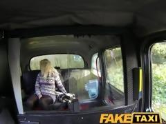 faketaxi young blonde sucks an old taxi mans dong