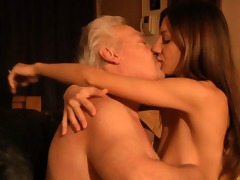 oldman fucks in ass his hot youthful wife