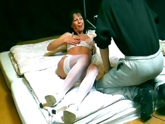 sex with horny german cougar - sascha production
