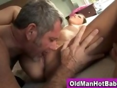 missy stone licked by messy old man