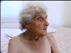 old slut 84 years old still loves youthful cock