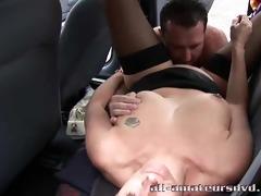 mature woman fucked in car – british