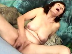 pervert russian groaning lady. aged aged porn