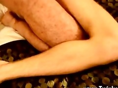 twink sex thankfully, muscle daddy casey has trio