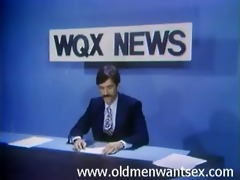 anchorman receives his ramrod sucked underneath