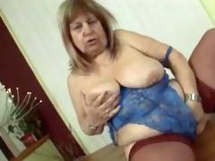 mature fat granny fucking