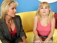 mother daughter cock engulf and fuck