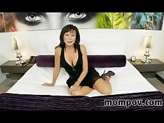 sexually excited swinger milf in debut porn video