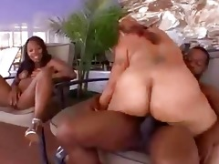 mother and daughter share a wang