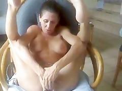 busty mature hot milf fingering hard