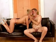 grandpapa fucks his youthful girlfriend