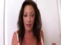 mamma and daughter and large darksome cock