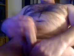 lustful shaggy daddy big uncut cock large balls